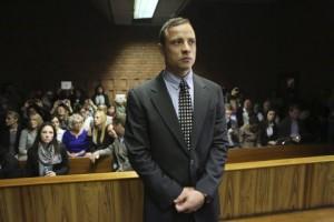Oscar Pistorius devant le magistrat de la Court de Prétoria, Afrique du Sud