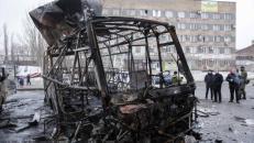 Tirs d'artillerie en Ukraine: 4 morts à Donetsk   Crédit photo : Reuters