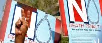Manifestation contre la peine de mort au Pakistan