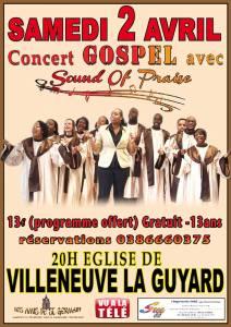 """Le groupe """"Sound of Praise"""" chante les louanges dans des chants de Gospel"""